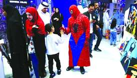 Ajyal features an array of fun-filled activities for all ages.
