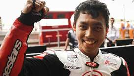 Indonesia's Munandar dies after crash at Sepang
