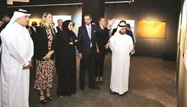 Aegean Desert exhibition inaugurated at Katara