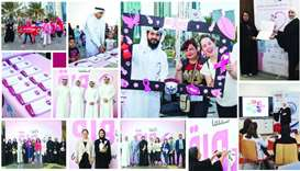 Commercial Bank, QCS combine efforts to raise breast cancer awareness