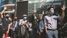 First-aid workers slam medic arrests at Hong Kong campus