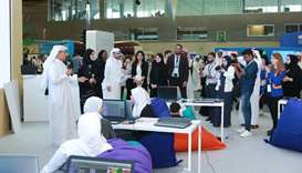 Dr Ibrahim bin Saleh bin Khalifa al-Nuaimi and Reem al-Mansoori led the launch ceremony.