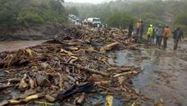 Kenya landslides kill a dozen people
