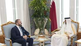 Amir receives credentials of EU ambassador