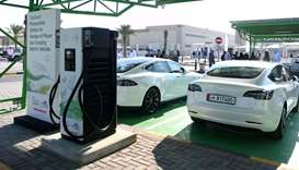 Kahramaa launches Tarsheed Photovoltaic Station for Energy Storage and Charging Electric Vehicles