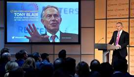 Britain is a dangerous mess, former PM Blair says