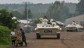 Soldiers from India serving in MONUSCO, the UN's peacekeeping mission in the Democratic Republic of