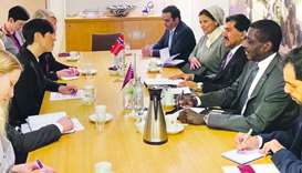 Qatar and Norway hold political consultations
