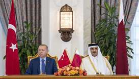 Amir Erdogan preside over 5th session of Qatar Turkey Supreme Strategic Committee