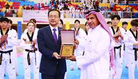 Hundreds participate in Korean Ambassador's Cup Taekwondo Championships