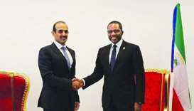 Al-Kaabi meets with Equatorial Guinea minister of mines and hydrocarbons