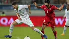 Saudi's campaign back on track with a 2-0 win over Bahrain
