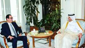 PM meets US treasury secretary