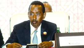 Minister of Foreign Affairs of Somalia, Ahmed Isse Awad