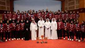 Sheikh Joaan honours Team Qatar athletes