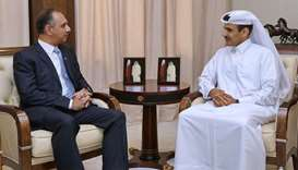 Al-Kaabi meets Pakistan minister for power and petroleum