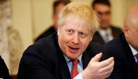 "UK's Johnson begins election battle, vowing Brexit and casting rival as ""Stalin"""