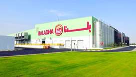 A view of the Baladna plant
