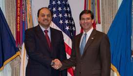 Deputy PM meets US defence secretary