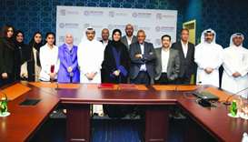 QFFD and Doha Institute for Graduate Studies sign cooperation agreement