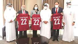 QFA president meets ambassadors of Paraguay, Mexico and Costa Rica