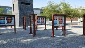 Featured persons represent a cross-section of a workforce of more than 40,000 employees across Qatar