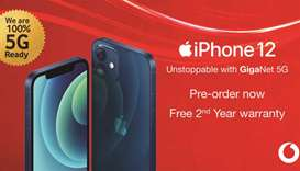 Vodafone to open pre-orders for the new 5G iPhone 12 line-up
