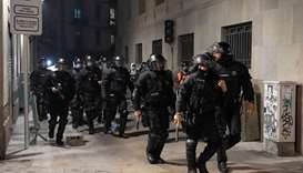 Clashes in Spain over virus restrictions for second night