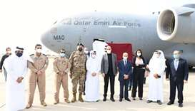 Qatar donates two field hospitals to Lebanon