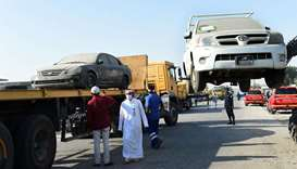Campaign to remove vehicles launched at Industrial Area