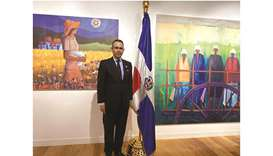 Dr Federico Alberto Cuello Camilo, ambassador Extraordinary and Plenipotentiary of the Dominican Rep