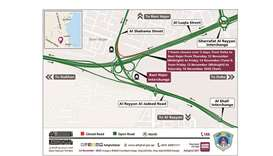 Two-night closure at Bani Hajer Interchange