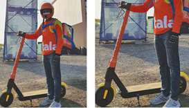 talabat deploys e-scooters for delivery at film festival