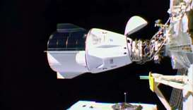 SpaceX Crew Dragon 'Resilience' docks with ISS