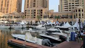 Seventh edition of Qatar International Boat Show (Qawarib 2020) at Porto Arabia. PICTURES: Jayaram