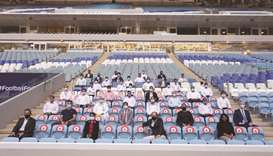 SC hosts sustainability training for stadium operators at Al Janoub