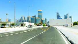 Roads leading to some sports and service facilities in Doha completed