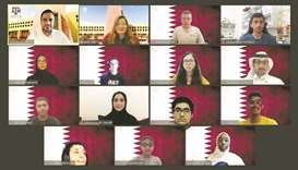 The team was mentored by Texas A&M at Qatar's STEM programme specialist Dr Mohamed Gharib.