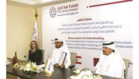 Officials at the signing of the MoU.