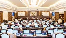 The Shura Council meets under the chairmanship of HE the Speaker of the Shura Council Ahmed bin Abdu