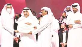 HE the Minister of Culture and Sports Salah bin Ghanem bin Nasser al-Ali has honoured Dr Marzouq Bas