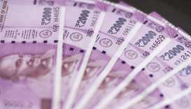 The rupee snapped its five-day winning streak to finish 17 paise lower at 74.05 against the US dolla