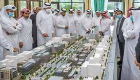 Qatar Chamber delegation briefed on investment opportunities in Lusail's Commercial Boulevard