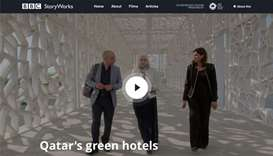 BBC film highlights QGBC's green hospitality initiatives