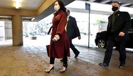 Huawei Technologies Chief Financial Officer Meng Wanzhou arrives at court in Vancouver, British Colu