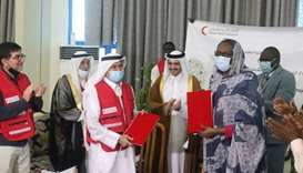 QRCS, SRCS sign pact to help Sudan recover from floods