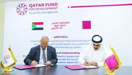 QFFD signs MoU to provide education to 50,000 children in Sudan