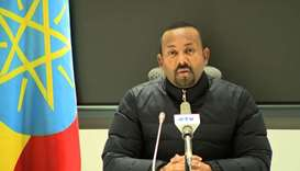 Ethiopian Prime Minister Abiy Ahmed saying that he is ordering a military response to a deadly attac