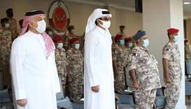Amir patronises opening of Military Police camp