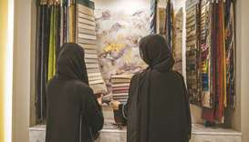 DHI run by two VCUarts Qatar alumni - Aysha al-Mohannadi and Kaltham al-Kuwari